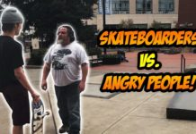 Skater vs Ciudadanos | Angry People